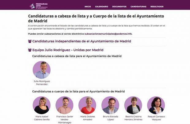 """La desfachatez del ex Jemad: purga a Rita Maestre y feminiza su candidatura como """"Unidas por Madrid"""""""