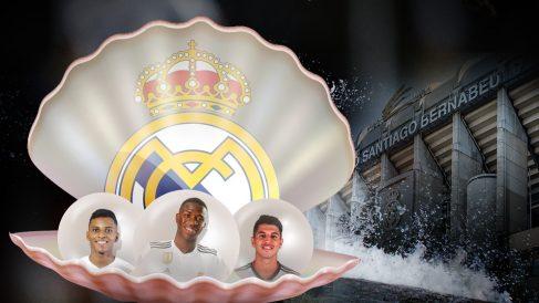 Las nuevas perlas del Real Madrid.
