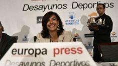María José Rienda. Foto: Europa Press