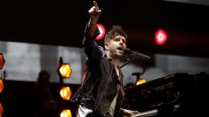 El cantante Pablo López en uno de sus conciertos. Foto: EFE