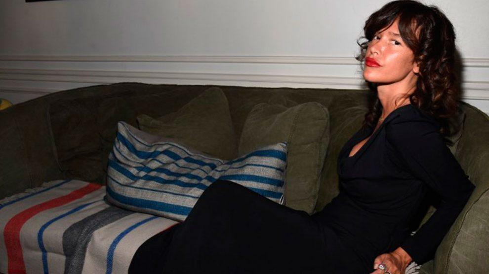 La actriz de origen español Paz de la Huerta. Foto: AFP