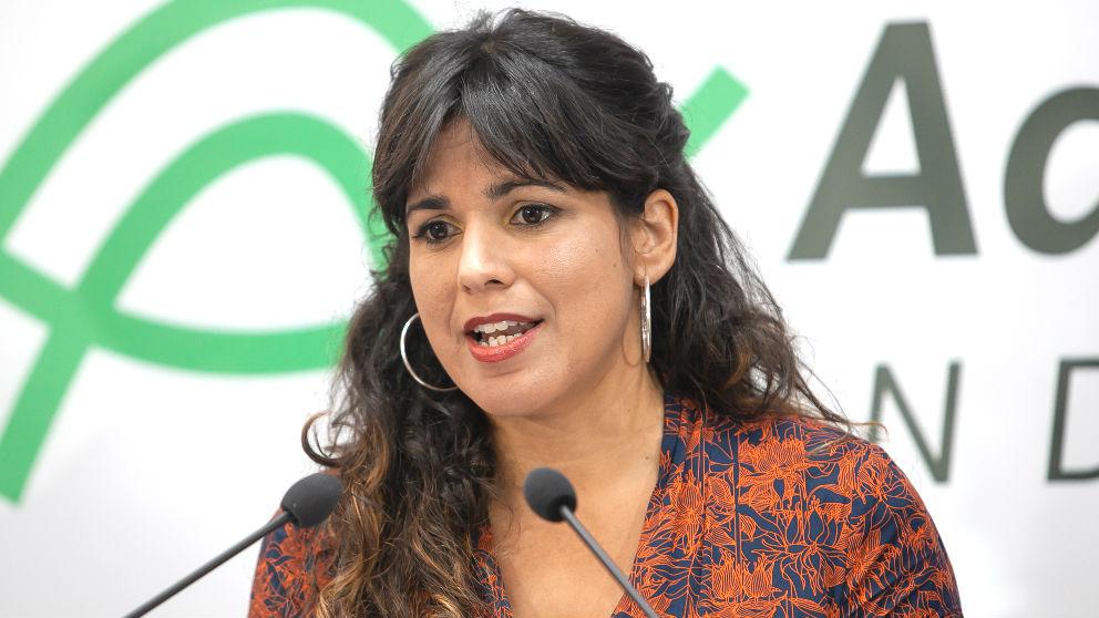 La ex líder de Adelante Andalucía, Teresa Rodríguez (Foto: Europa Press).