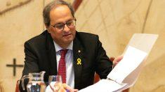El presidente de la Generalitat, Quim Torra (Foto: Efe)