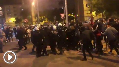 Detenidos dos radicales que intentaban a gredir a los líderes y simpatizantes de VOX.