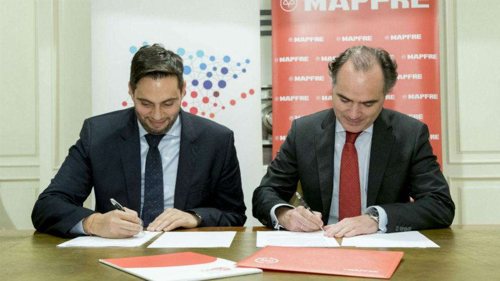 Mapfre firma un acuerdo de colaboración con la Confederación Española de Jóvenes Empresarios (Foto: Mapfre)
