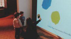 Al museo con el bebé, singular iniciativa cultural