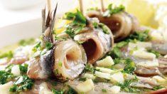 Receta de anchoas al pesto