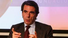 El ex presidente del Gobierno José María Aznar (EFE).