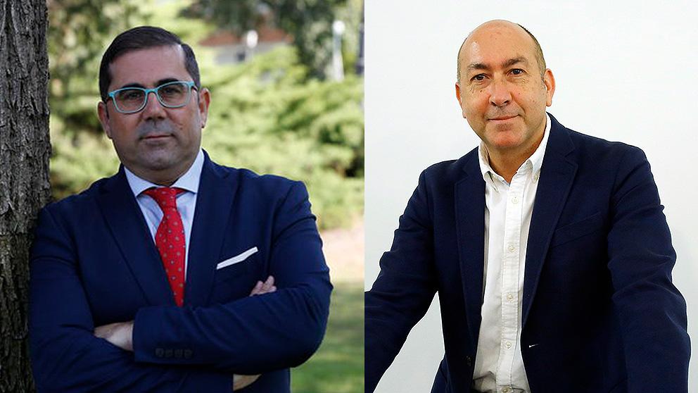 El director del Alto Comisionado para la Agenda 2030, Federico Buyolo (izquierda), y el director general de SEPES (derecha)