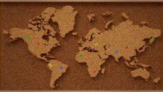 Aprende cómo hacer un mapa de corcho para decorar