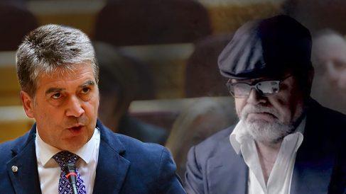 Ignacio Cosidó y el comisario José Villarejo