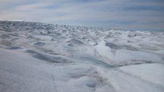 Descubierto en Groenlandia un cráter del tamaño de París