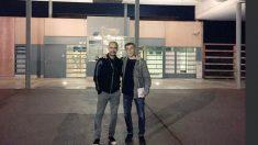 Pep Guardiola en la prisión de Lledoners (Foto: Twitter Jordi Cuixart)