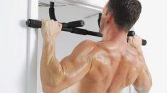 Las dominadas son ejercicios exigentes pero muy beneficiosos