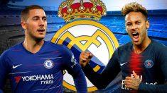 Neymar quiere jugar con Hazard.