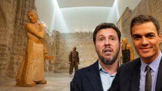 La capilla gótica del Museo Patio Herreriano acoge obras de arte contemporáneo.