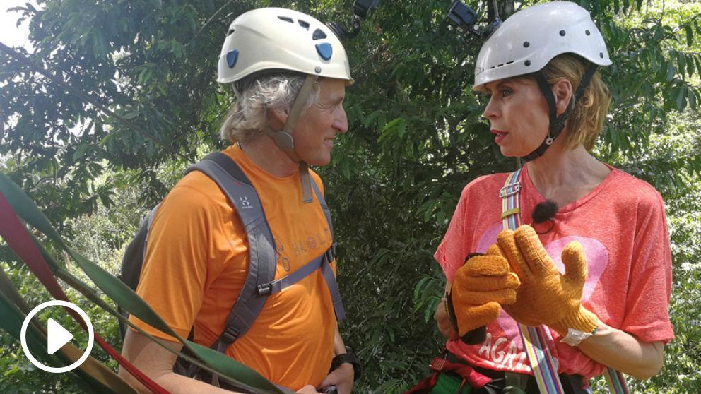 Costa Rica, un viaje de luz y color para Ágatha Ruiz de la Prada en 'Planeta Calleja'