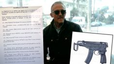 Manuel Murillo y el informe de su arsenal elaborado por los Mossos, en el que no aparece el subfusil checo Skorpion vz. 61.