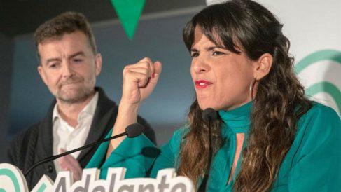 Teresa Rodríguez en un acto de este jueves (EFE):