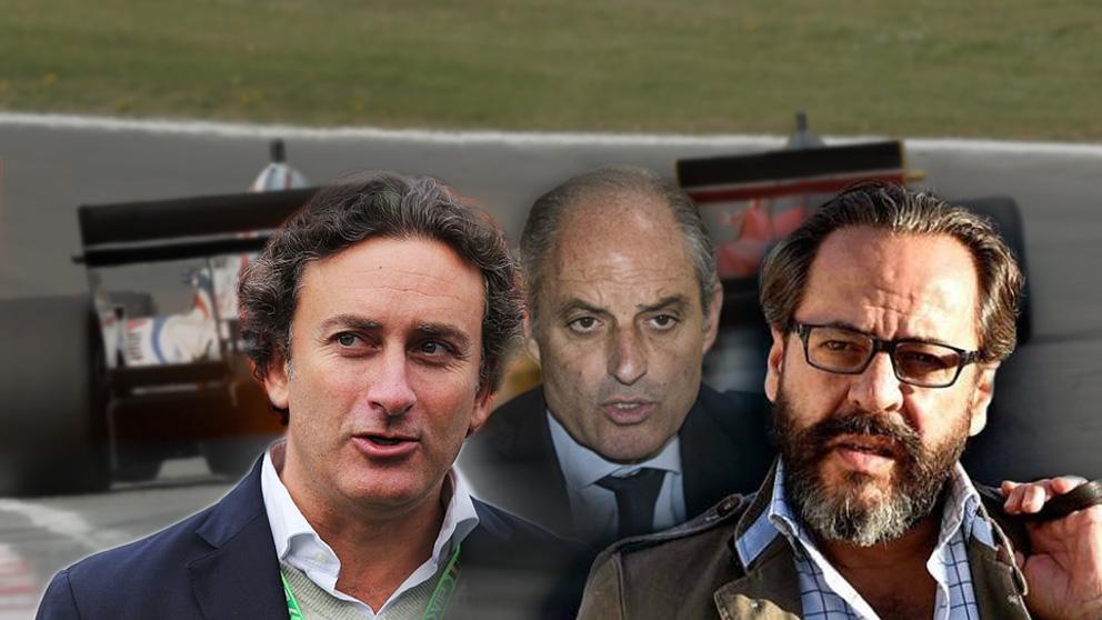Alejandro Agag, Francisco Camps y Álvaro Pérez, el Bigotes.