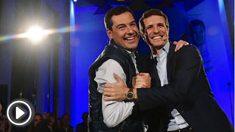 Casado arropa a Moreno en el primer mitin de campaña de las elecciones andaluzas (PP).