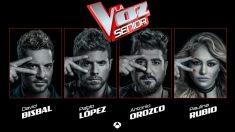 Coaches de 'La Voz Senior'