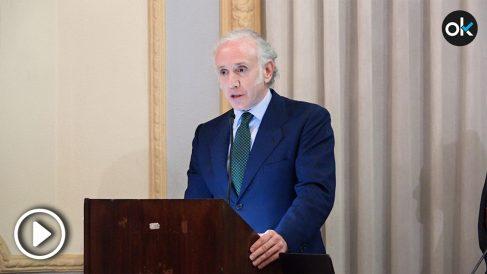 Eduardo Inda ensalza la labor de la Guardia Civil en la entrega de premios Círculo Ahumada 2018