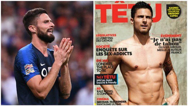 Homosexualidad, sin cabida en el futbol, dice Giroud