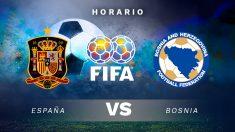 Amistoso 2018: España – Bosnia | Horario del partido de fútbol amistoso.