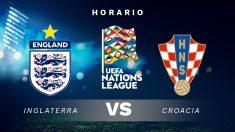 Liga de Naciones 2018: Inglaterra – Croacia | Horario del partido de fútbol de la Liga de Naciones.