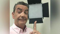 El actor Javier Quero.
