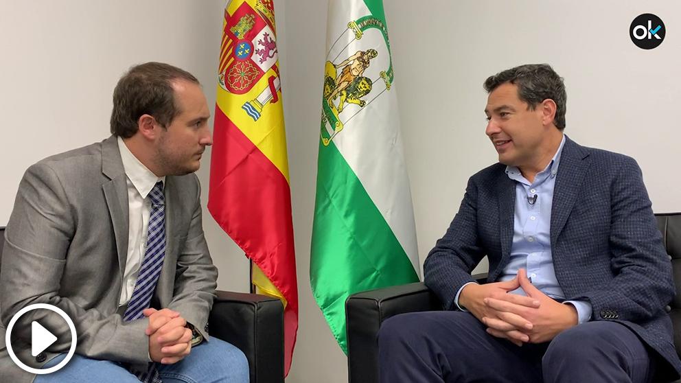 OKDIARIO entrevista al candidato del PP a las elecciones andaluzas 2018, Juanma Moreno
