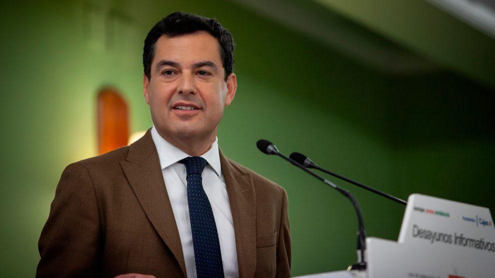 El presidente del PP andaluz y candidato a la Presidencia de la Junta, Juanma Moreno (Foto: Europa Press).