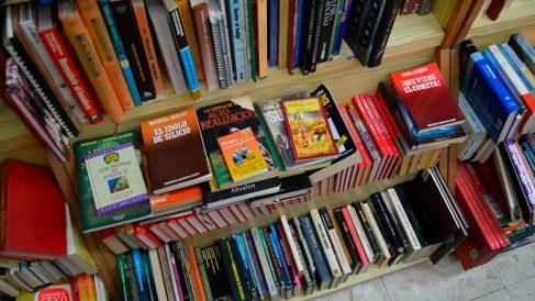 Libros expuestos en una librería de Madrid. Foto: Europa Press