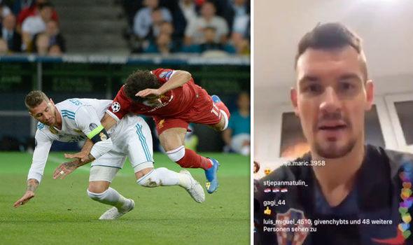 El duro mensaje de seleccionado croata a Sergio Ramos