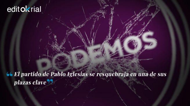 Podemos implosiona en Madrid