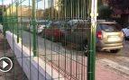 Carmena indigna a vecinos de Chamartín por vallar un solar abandonado que usaban como parking