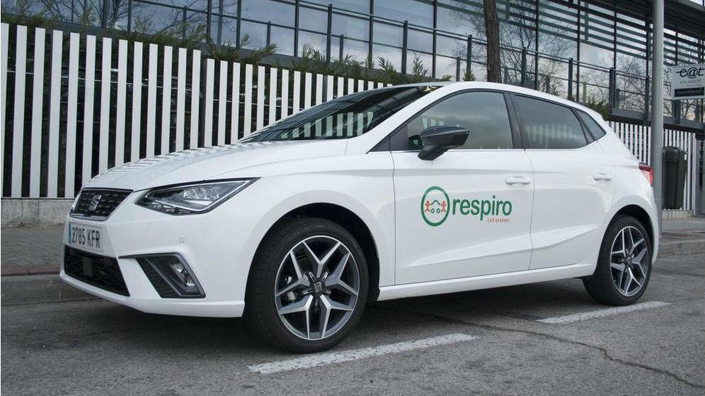 Respiro, la startup para coche compartido de Seat