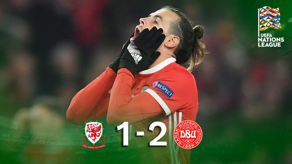 Bale se lamenta tras perder con Gales.