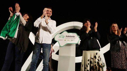Mitin de Teresa Rodríguez en las Andaluzas 2018. Foto: EP