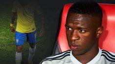 El Real Madrid teme por una posible lesión de Vinicius con Brasil.