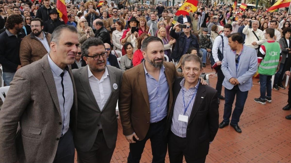 Acto de VOX hoy en Málaga (EP).
