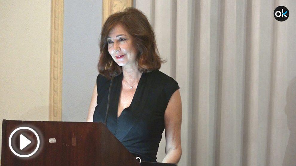 Ana Rosa Quintana premiada como Socia de Honor por el Círculo Ahumada Amigos de la Guardia Civil 2018.