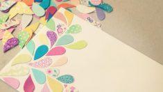 Los sobres pueden decorarse por dentro y por fuera