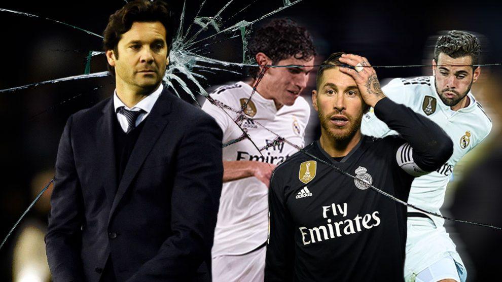 El Real Madrid está bajo en defensas.