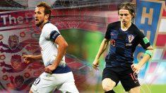 España se la juega en el Inglaterra – Croacia.