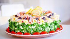 Receta de tarta de jamón serrano