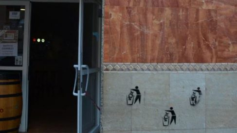Pintadas contra Vox en Tarragona
