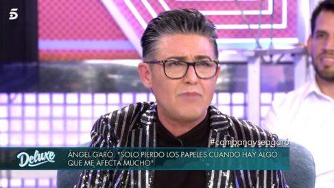 Ángel Garó en 'Sábado Deluxe'