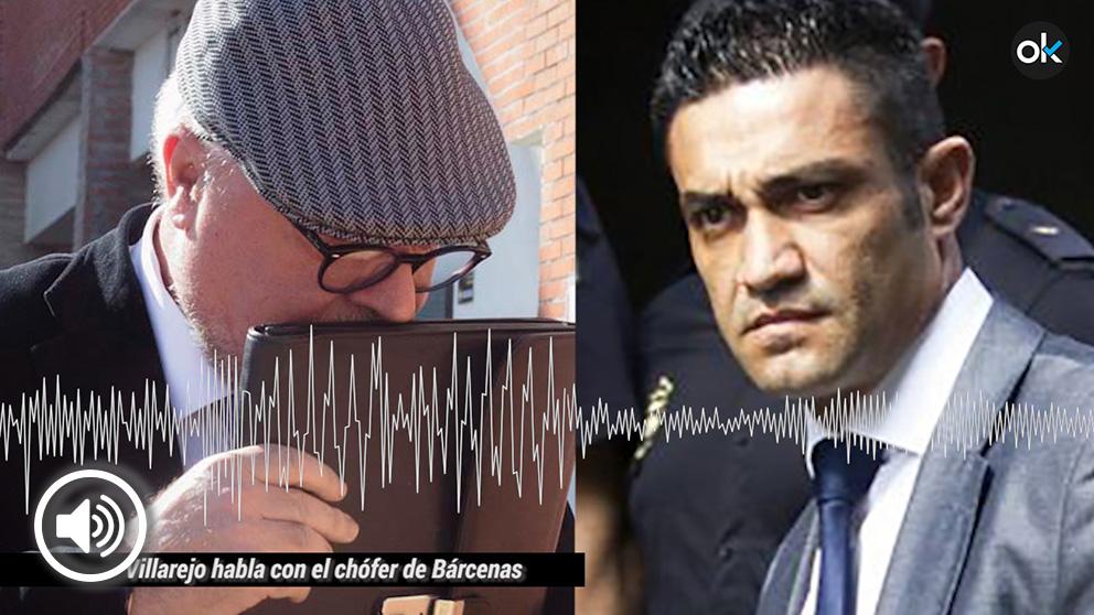 El comisario Villarejo habla con el chófer de Bárcenas, Luis Ríos.